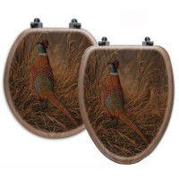 Pheasant Solitude Toilet Seats