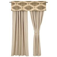 Caprice Drapes and Caravan Valance