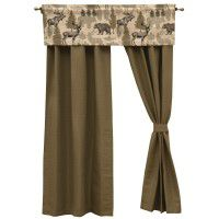 Evergreen Drapes and Echo Valance