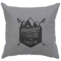 Mountains Calling Pillow