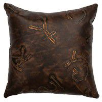 Leather Brands Pillow