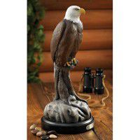 Bald Eagle Sculpture by Randal Martin