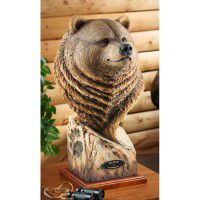 Big Grizzly Bear Sculpture