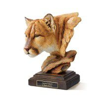 Canyon Watch – Cougar Sculpture