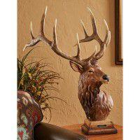 Trail Boss Elk Sculpture
