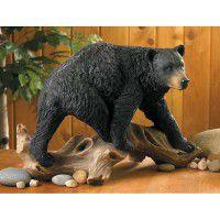 Black Bear Sculpture