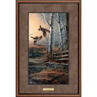 Breaking Cover – Ruffed Grouse Pinnacle Edition Art Print