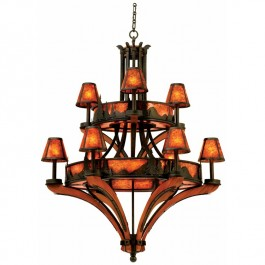 Aspen Mountain 9 Light Chandelier