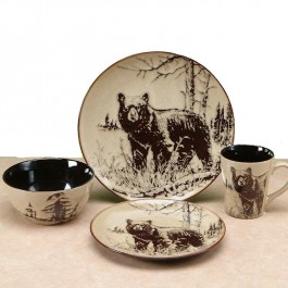 Bear Walk Dinnerware