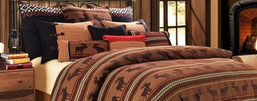 Moose Bedding Set